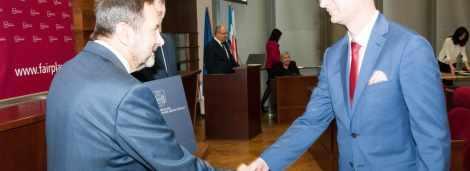 """Gala Regionalna wręczenia certyfikatu """"Fair Play 2015"""""""