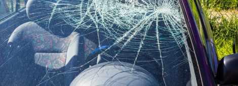 Poszkodowany 48-letni kierowca samochodu