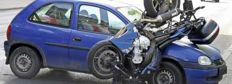 Poszkodowany 22-letni motocyklista