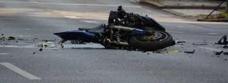 Ginie 22-letnia pasażerka motocykla