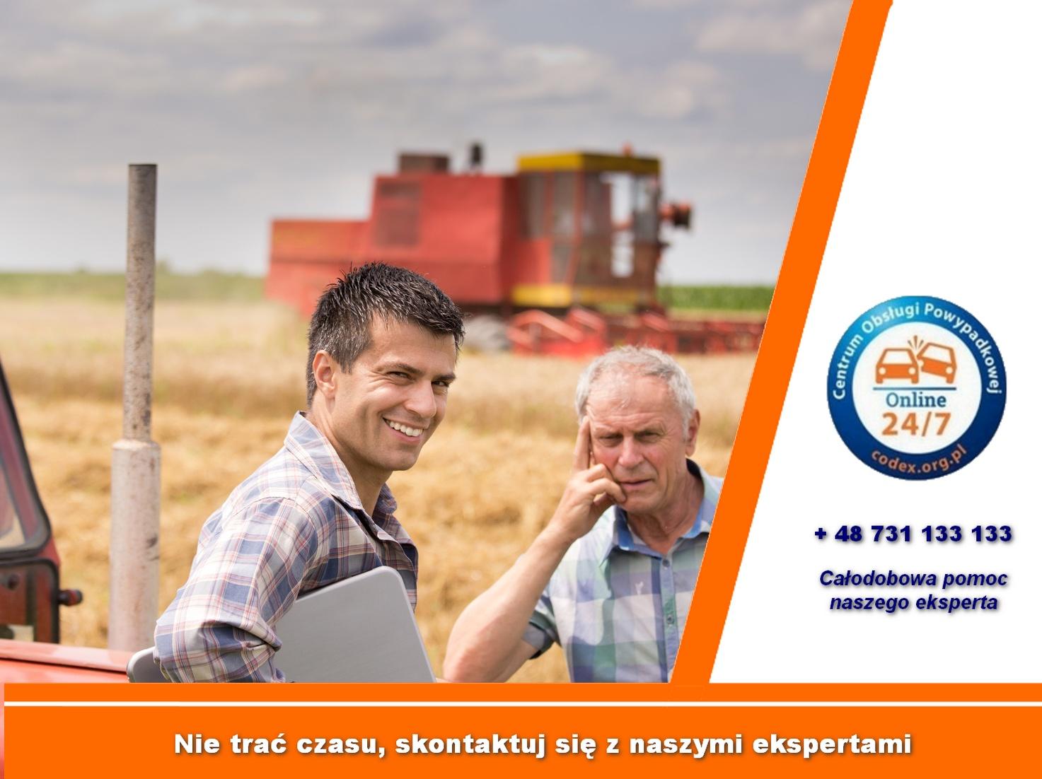 odszkodowania za wypadek w rolnictwie